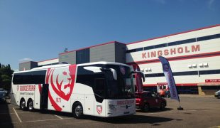 Gloucester Rugby Club Coach Kingsholm